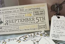 Wedding ideas - stationary / by Kimberly Kolesnik