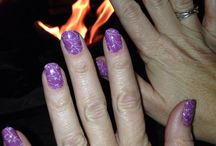In Style with Picture Pretty Nails / All over style with Picture Pretty Nails to match.
