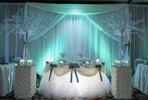 Mesas decoradas tortas
