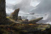 Environment: sci-fi