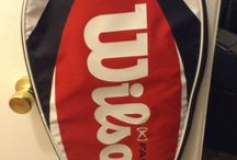 Wilson tennis racket cover / (15$ Toronto)I have a really nice tennis racket cover made by wilson,its in really good condition,the mesure are 28 inches high x 14 inches wide,i am in etobicoke area,ask us for what else we have for sale...we have a lot,(look in your spam folder for my reply,sometimes it goes in there)thank you 'No Pay Pal'