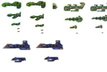 Pixelships / A board dedicated to the fine art of pixel spaceshipery.