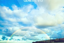 Genesis / God creates the world and man as his regent, man proves disobedient and God destroys his world through Flood. Post Flood world is equally corrupt, God calls Abraham, to be its salvation.  Abraham descends from his home into the land of Canaan, given to him by God, his son Isaac and his grandson Jacob, name changed to Israel, through Joseph, the children of Israel descend into Egypt, and God promises them a future of greatness. Genesis ends with Israel in Egypt, ready for the coming of Moses