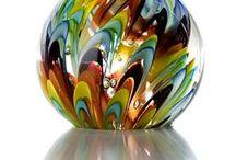 Glass-Art Glass / Art glass of all kinds - whimsical, vases, etc.  / by Joan Redd