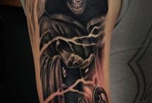 Reaper Cover Up Tattoo