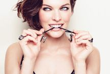 Milla Jovovich / Amazing model, fashion designer and actress.