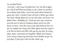 To my internet Best Friend <3