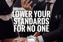 Lower your Standardsfor noone