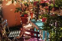 balkony, terrace