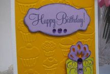 birthday cards / by Nell