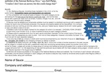 Barbecue Competition Information / Barbecue Contest Barbecue Sauce