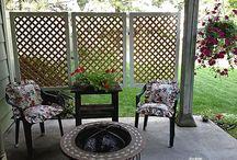ogród patio