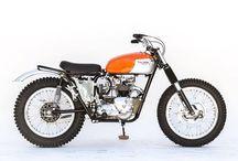 Triumph T 100 1972 Desert Sleed