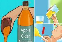 Health / house cleaning. Gezondheid en huishoudelijke tips / weetjes