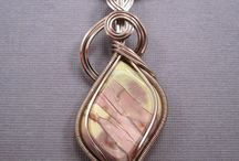 JEWELRY: Wire - wrapped Cabochons / by Marsha Ross