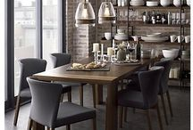Dining Room Inspiration / Great Ideas for Dining Rooms that inspire our show room and furniture.