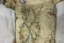 18th century painted silks for dress