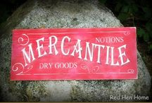 Red Hen Home Signs & Canvases