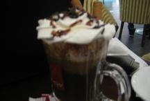 coffee, chocolate & coffee cocktails