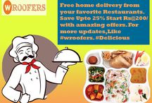 Online Food Delivery In Gwalior / Get home food at click of a button! Home Cooks in Gwalior are using online to share their families favorite dishes with people starved for Ghar Ka Khana.  #wroofers.#Delicious  #favouraterestaurant http://www.wroofers.com/city-food-at-home.php