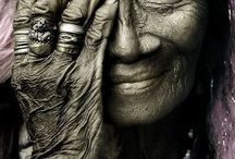 ♥ Faces of Wisdom ♥ / To have lived a life and gained so much wisdom...if only we could share a conversation. / by Peggy Martin-Lenzing