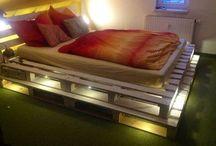 Кровати паллет