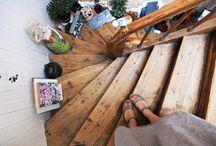 Interiør - trapp
