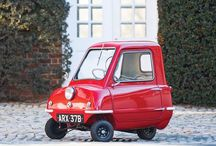 Peel 50 / Peel 50 - the smallest production car in the world