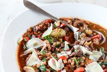 Winter Food: soups & stews
