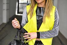 Neon women's fashion