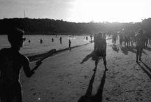 Frescobol / Racchettoni on the beach