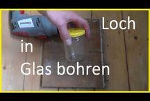 Glas bohren&Schneiden