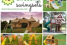 Swing sets / by Jessica Beck