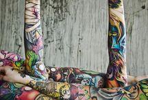 tattos color