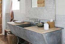 .:ScrubAdubDub:. / Bathroom Reno, repurposed bathroom, Nordic White / by Allyson Gammon