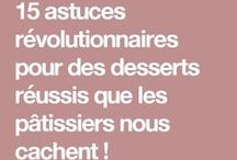 Astuces dessert
