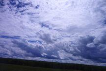 Nas nuvens......! / Fotos, paisagem, nuvens.... nuvens nos céus do interior de SP. :)