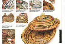 Väskor/ korg- tillverka paper: