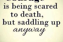 Courage v Fear