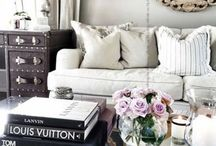 Glamorous and Feminine Interiors / Distinctly lovely spaces