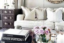 Glamorous and Feminine Interiors / Distinctly lovely spaces