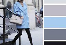 Paleta de colores para vestir