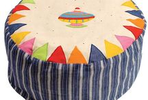 Children's Bean Bags / Beautiful luxury Children's bean bags.