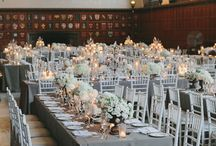family style reception table .