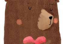 Милые, детские, иллюстрации