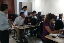 """Curso """"Introducción a las TIC"""" en la ENTS, DGTIC, h@bitat puma / Curso que fomenta el uso de TIC en la educación para profesores de la Escuela Nacional de Trabajo Social"""