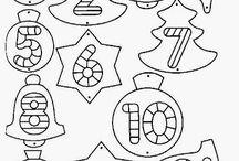 Vánoce - omalovánky