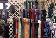 allestimenti sciarpe