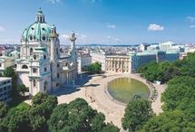 Architecture in Vienna / Vienna is an architectural delight with buildings from the gothic, baroque, rococco, classical, historicist and jugendstil epochs amongst the best-loved and most photographed.