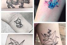 Tatuajes | Origami